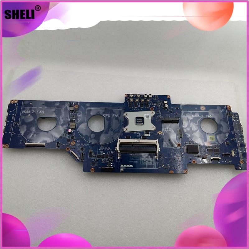 SHELI LA-9332P 4703X 04703X CN-04703X para DELL alienígena-ware M18x R3 placa base