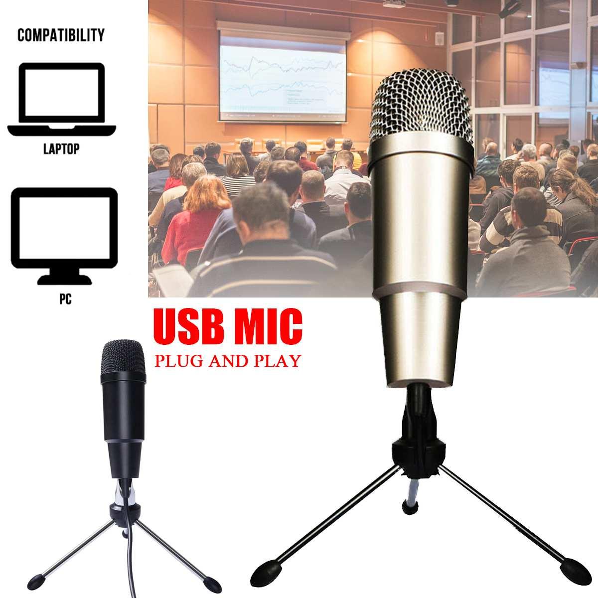 Mini USB micrófono de solapa PC/teléfono/cámara Mic externo portátil ojal micrófonos para iPhone de la computadora portátil