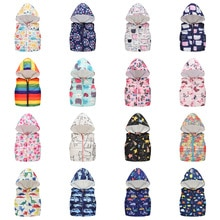 Fashion Vest for Girls Boys Hooded Cotton Winter jacket Baby Girl clothes boy hooded vests Kids Slee