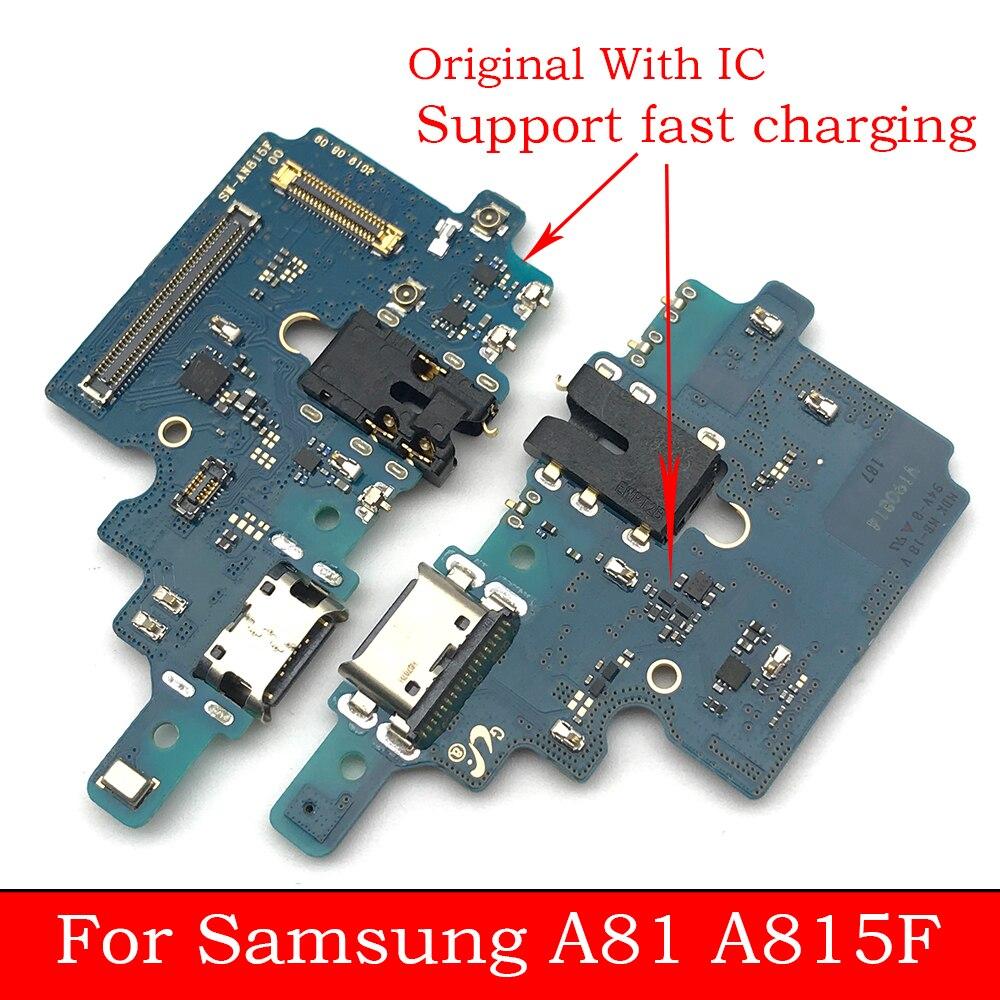 Original para Samsung Galaxy A81 A815 A815F cargador USB puerto de carga Cable Flex