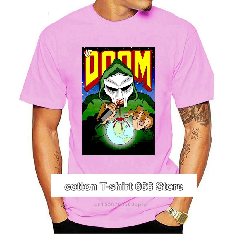 Mf Doom-Camiseta de Arte de villanas para hombre, Camiseta deportiva de talla...