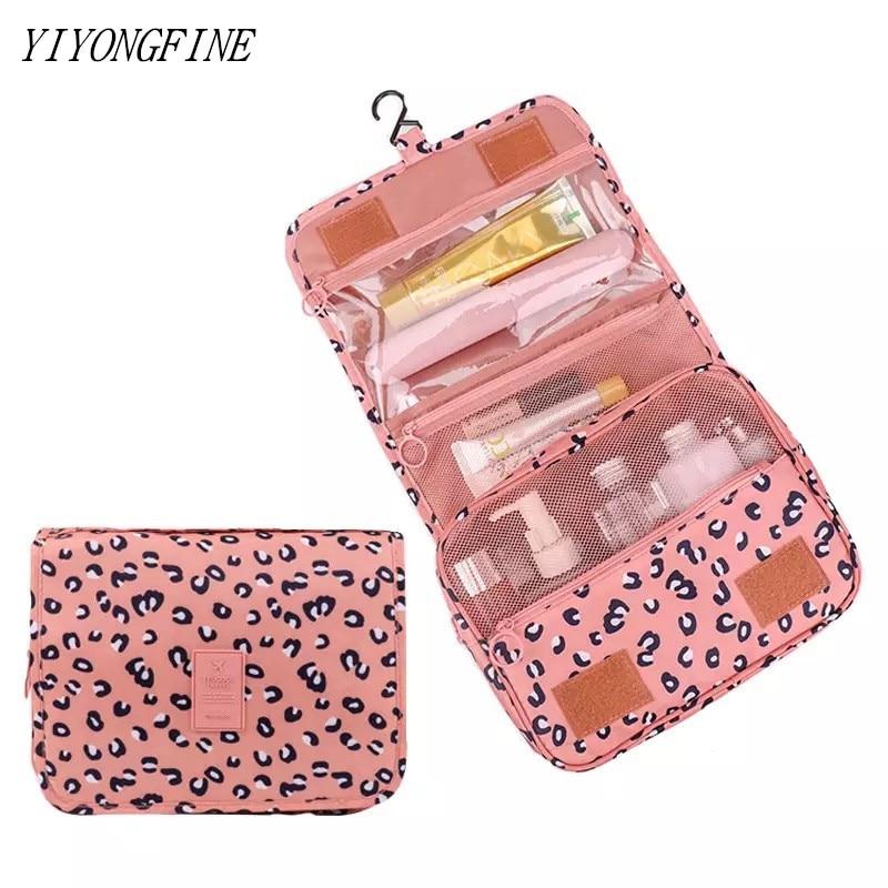 AliExpress - Cosmetic Bag For Women, Nylon Waterproof Toiletries Bag, Grooming Kit Makeup Bag, neceser, Bathroom Hanging Bag, Beauty Bag