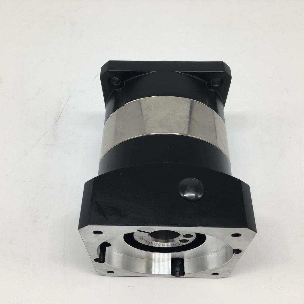 Ratio 5 :1 High Precision NEMA32 80mm Planetary Reducer 7Arcmin Backlash Gearbox Reducer 6000rpm For 750W Servo Motor Spindle