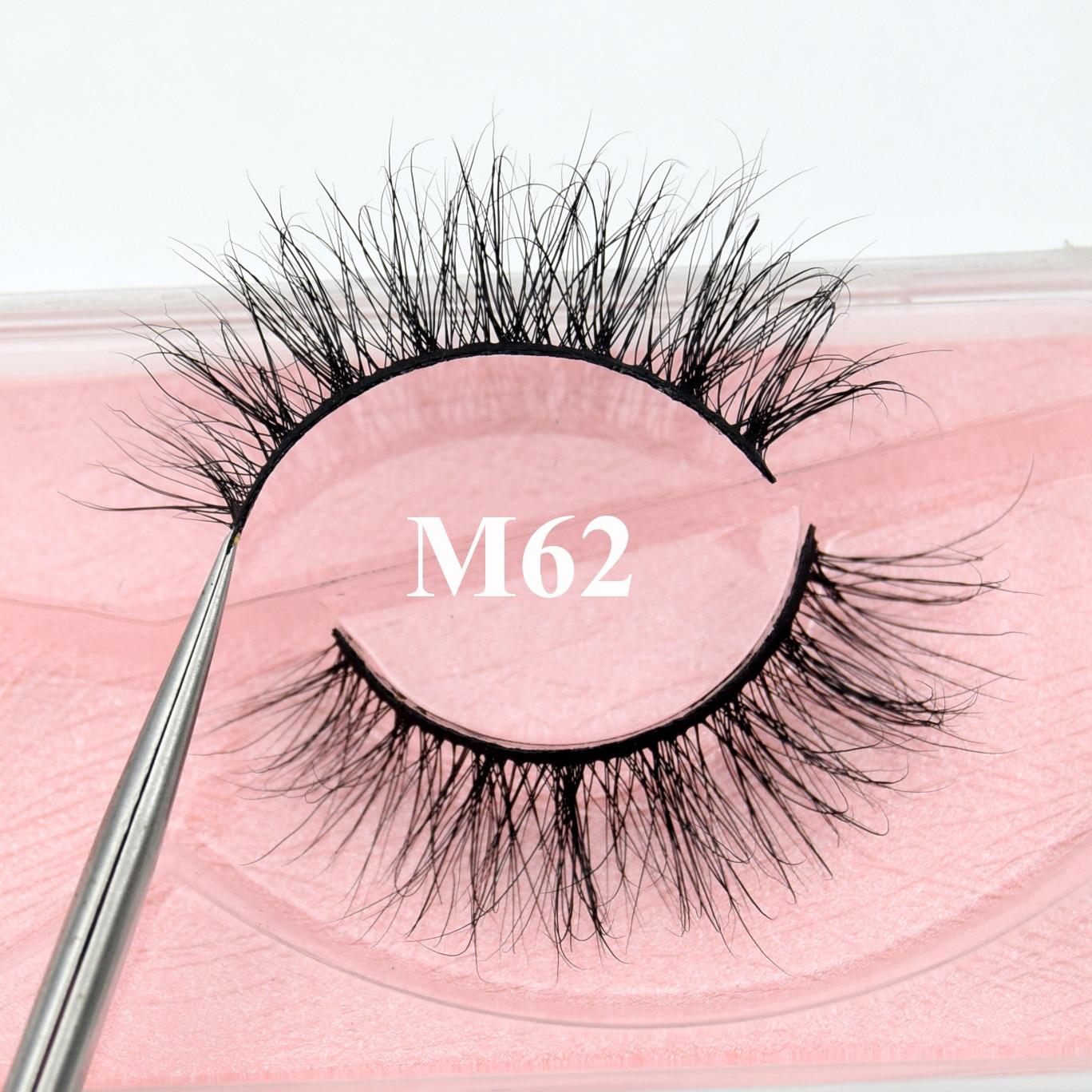 AliExpress - Visofree Mink Lashes natural false eyelashes fake lashes long makeup 3d mink lashes eyelash extension mink eyelashes beauty M62
