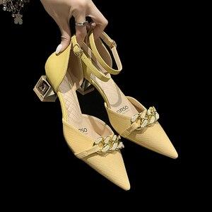 High Heels Women Shoes Summer Fashion Women's Sandals Office Ladies Female Pumps Shoes Wedding Shoes for Women Bride