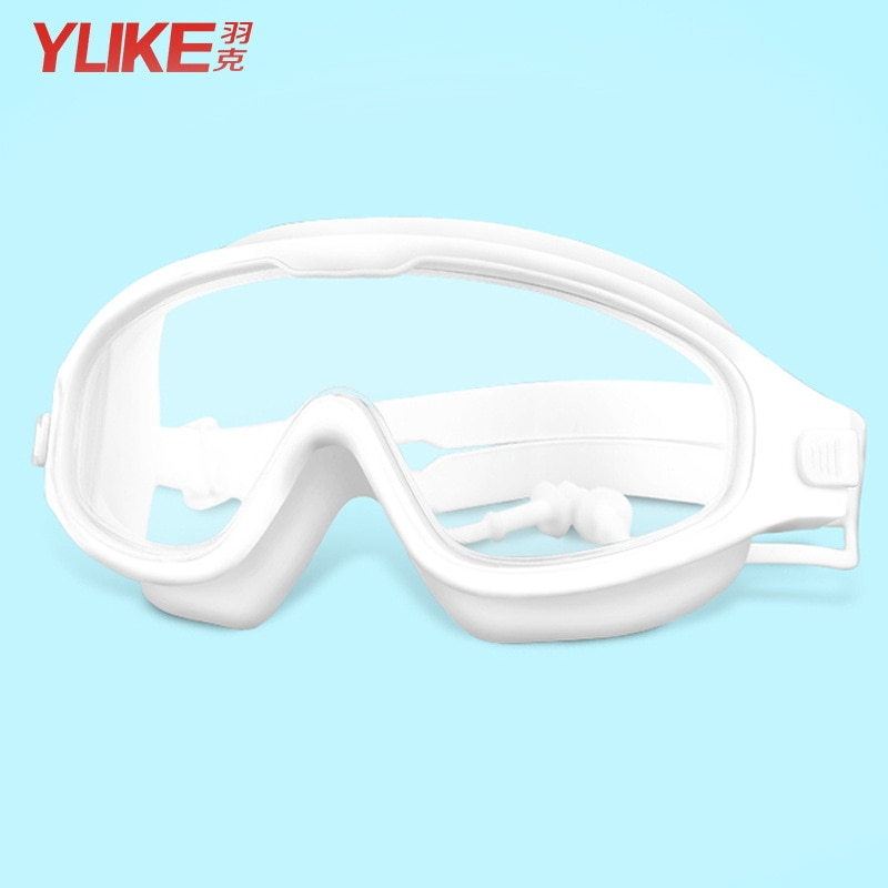 YUKE Fashion Professional Child Swimming Goggles Anti-fog UV kids goggles  Swimming Glasses With Earplug for children