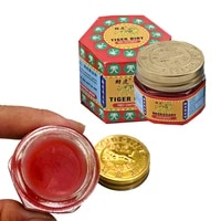 100 original thailand pain killer red tiger ointment lion balm white balm ointment muscle pain relief ointment soothe itch