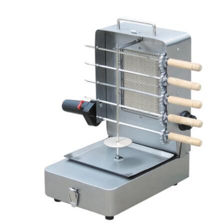 ماكينة صنع الكباب بالغاز, ماكينة شاورما صغيرة منزلية الصنع