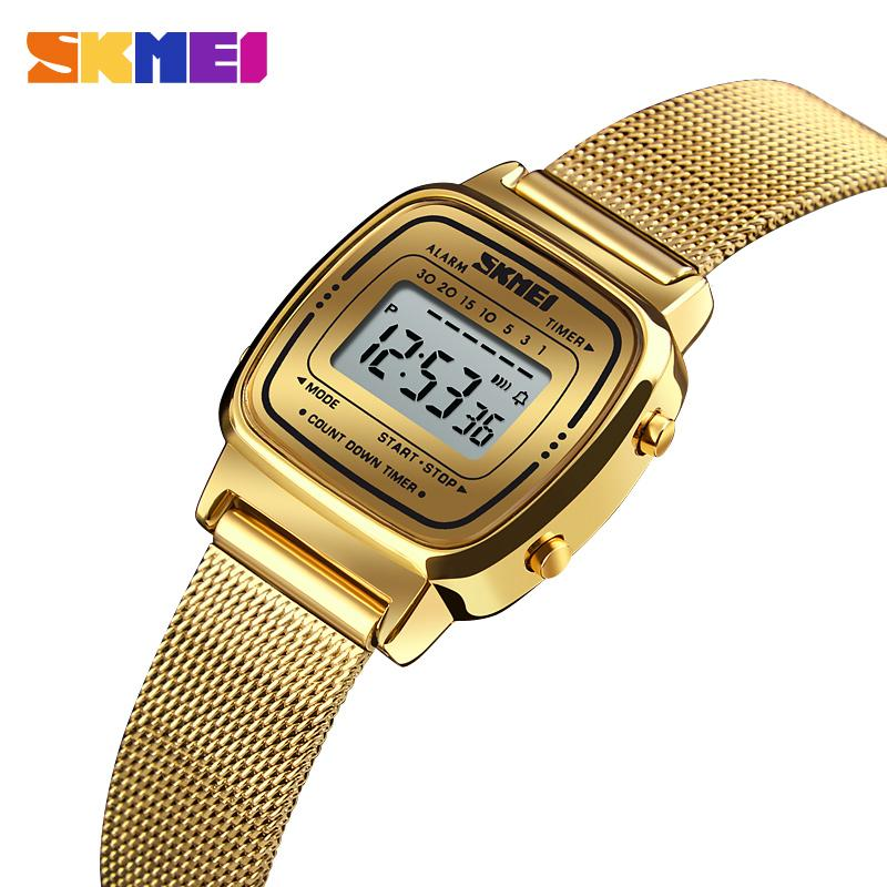Fashion Sport SKMEI Watch Women Top Brands Luxury 3Bar Waterproof Ladies Watches Small Dial Digital Watch Relogio Feminino 1252 enlarge