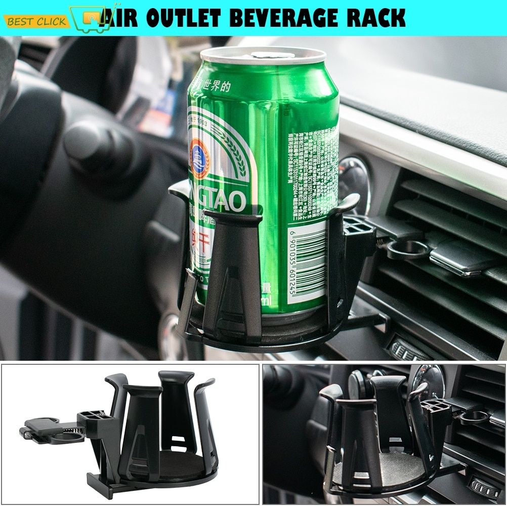 Universal Air Outlet Vent Cup Drink Holder Mount Car Door Beverage Can Mount Stand Juice Water Holde