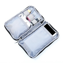Travel Digital USB Gadget Organizer Bag Portable Digital Cable Bag Electronics Accessories Storage Carrying Case Pouch