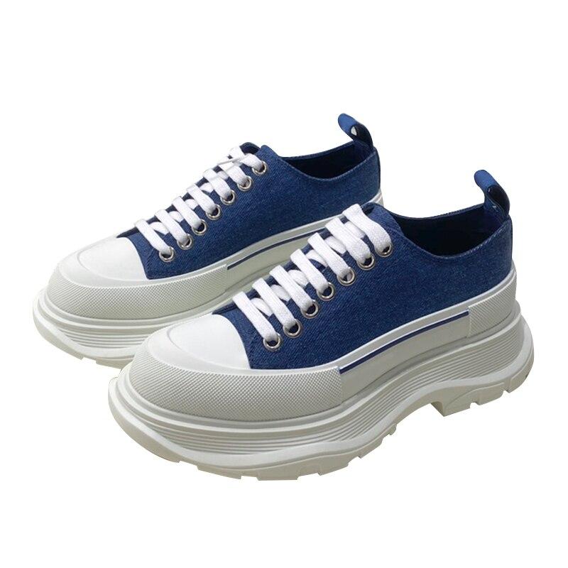 Starbags MCQ الأصلي لون التباين عشاق الأحذية نسخة حذاء رياضة تصميم الأزياء الإيطالية حذاء مسطح مع صندوق الحفل وحقيبة