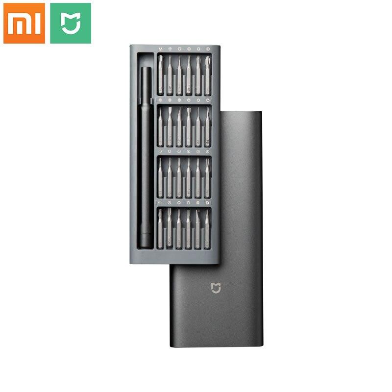 Xiaomi Mijia Wiha-مجموعة أدوات إصلاح ، أصلي ، 24 في 1 ، مثقاب مغناطيسي 60HRC