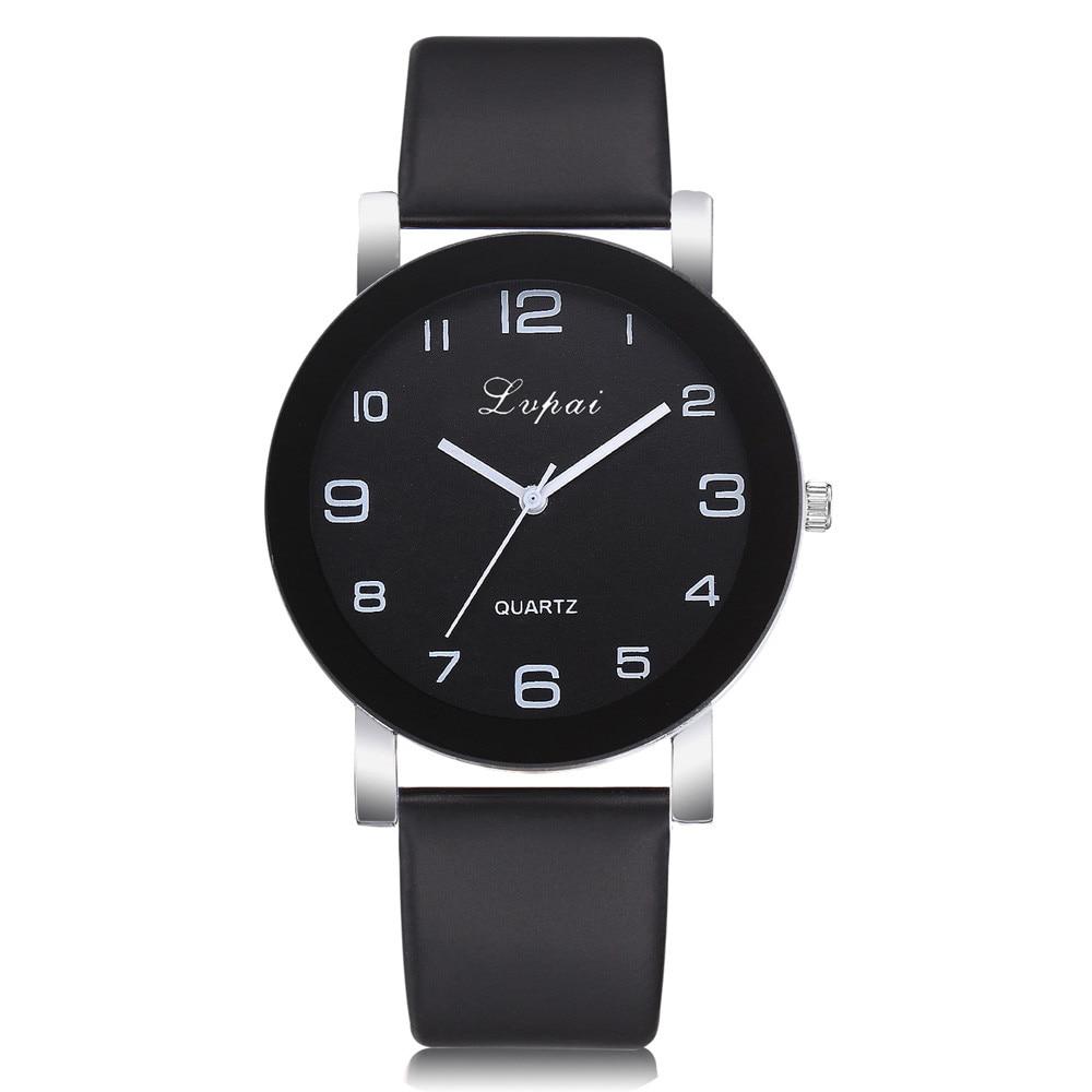 Lvpai Quartz Watch Women Ladies HOT Fashion Casual Leather Hook Buckle Band наручные часы Analog Wrist Watch 12 Colors Wholesale