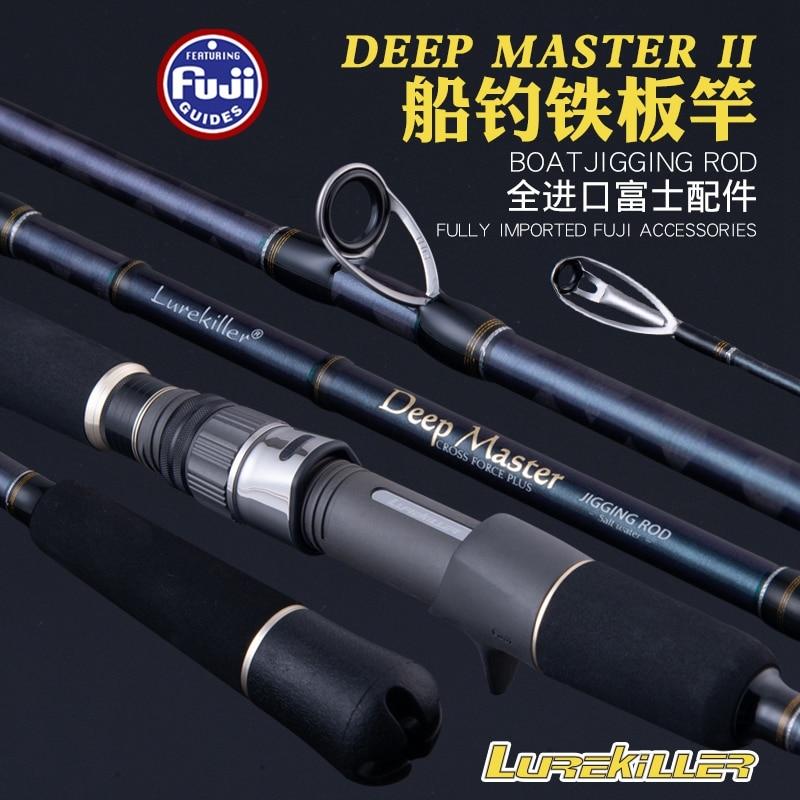 Lurekiller New Japan Full Fuji Parts  Jigging Rod 1.8M PE 3-6 Lure Weight 100-300G 20kgs Ocean Boat Fishing Rod Spinning/casting enlarge