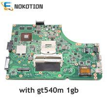 NOKOTION K53SV CARTE PRINCIPALE REV 3.0/3.1 Pour ASUS K53SV A53S K53S X53S P53S K53SC K53SJ K53SM ordinateur portable carte mère GT540M 1 GO