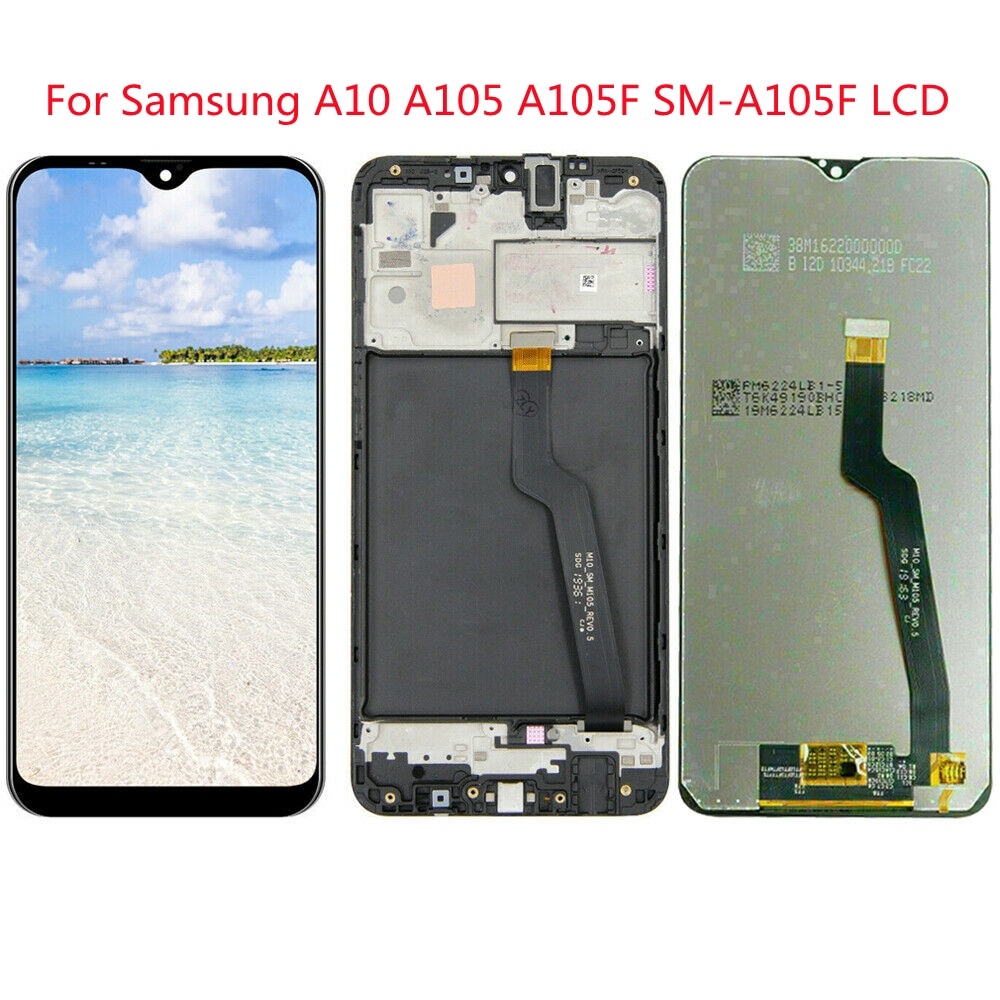 Original LCD LCD monitor with frame replacement for Samsung Galaxy A10 A105 A105F SM-A105F Can be wholesale