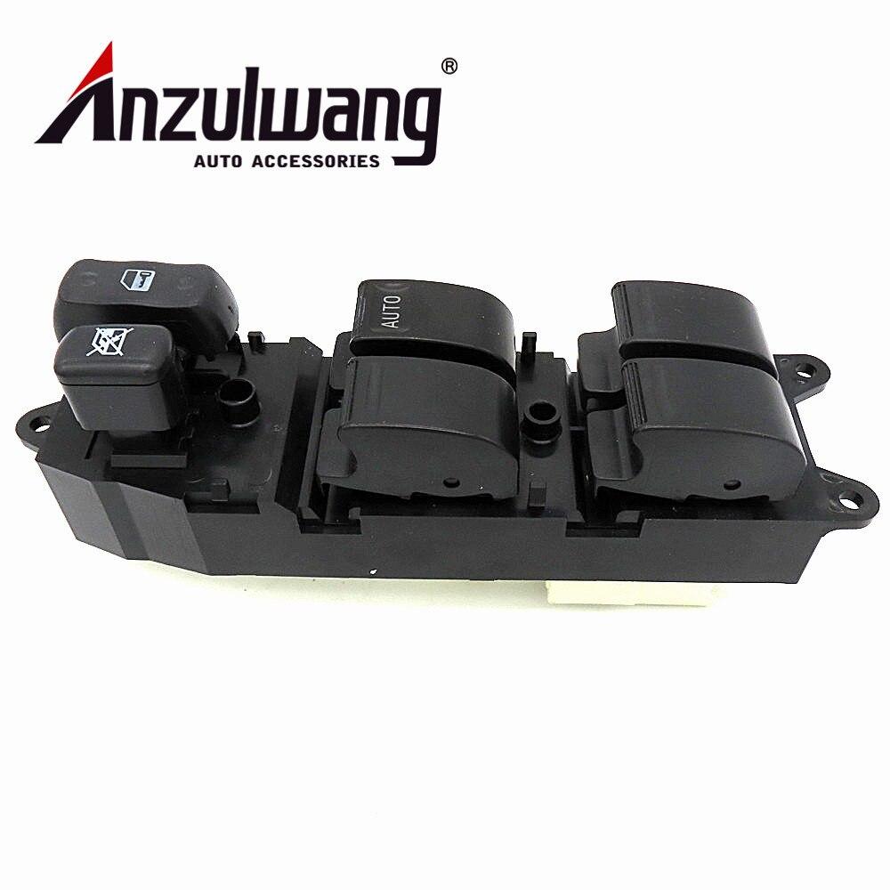 ANZULWANG 84820-60120 de 8482060120 interruptor de ventanilla eléctrica principal para Toyota Landcruiser Serie 100 HZJ105 HDJ100 FZJ105
