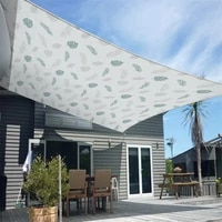 foldable garden waterproof and anti ultraviolet sunshade canvas oxford cloth sunscreen rain cover garden patio awning