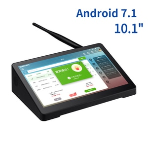 "Original X10RK  All In One Desktop Box Tablet PC Android RK3326 10.1"" 2GB RAM 1000mAH DB9 For Pos 3D Printer Education Medicine"