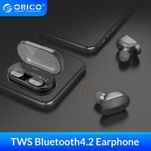 ORICO TWS Mini Wireless Bluetooth Earphone 4.2 Version HIFI Stereo Portable Earbud Headset With 2000mAh Charging Box
