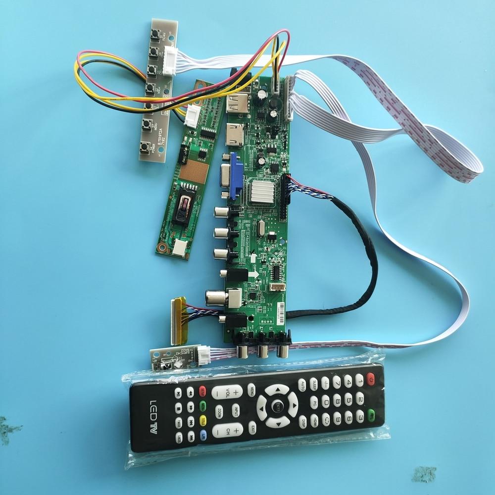 "Kit For LTN150XG-L03/LTN150XG-L04 1 CCFL LCD Panel Controller board DVB-C DVB-T TV VGA USB AV 1024X768 30pin Digital HDMI 15"""
