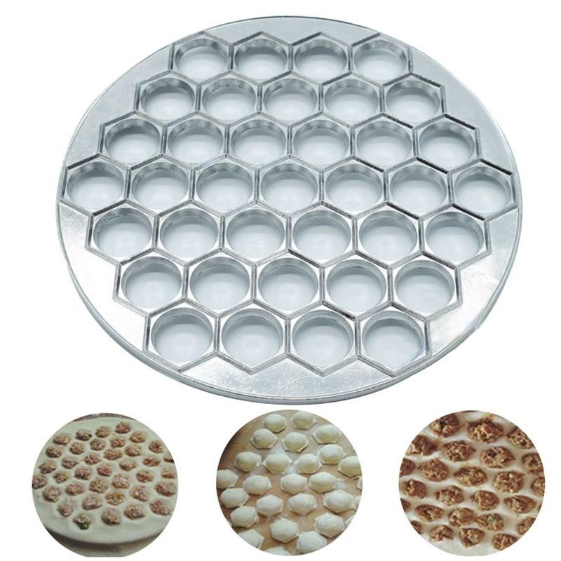 Molde para Dumplings de gran tamaño, utensilios de cocina DIY para hacer Dumplings, molde de ravioles, prensa de masa, utensilios de decoración de repostería