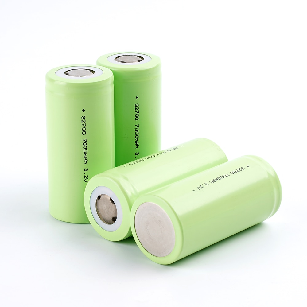 32700 3.2v 7000mAh Rechargeable Battery 5C Discharge For Backup Power Flashlight