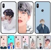 kpop popular star art korea phone cases for xiaomi redmi 7 9t 9se k20 mi8 max3 lite 9 note 8 9s 10 pro shell cover funda capa