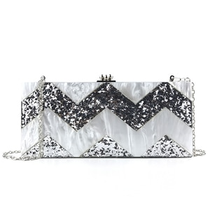 OC4093 Aliexpress China Online Shopping Wholesale Acrylic Purse For Ladies Party Acrylic Clutch Bags
