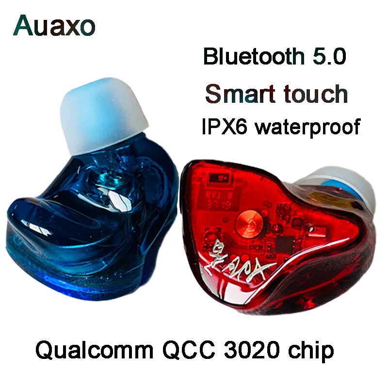 TWS Earphone 2BA Balanced Armature Earbuds Touch-Control Beat Bluetooth 5.0 Earpiece Aptx Wireless Headset Qualcomm QCC3020 chip