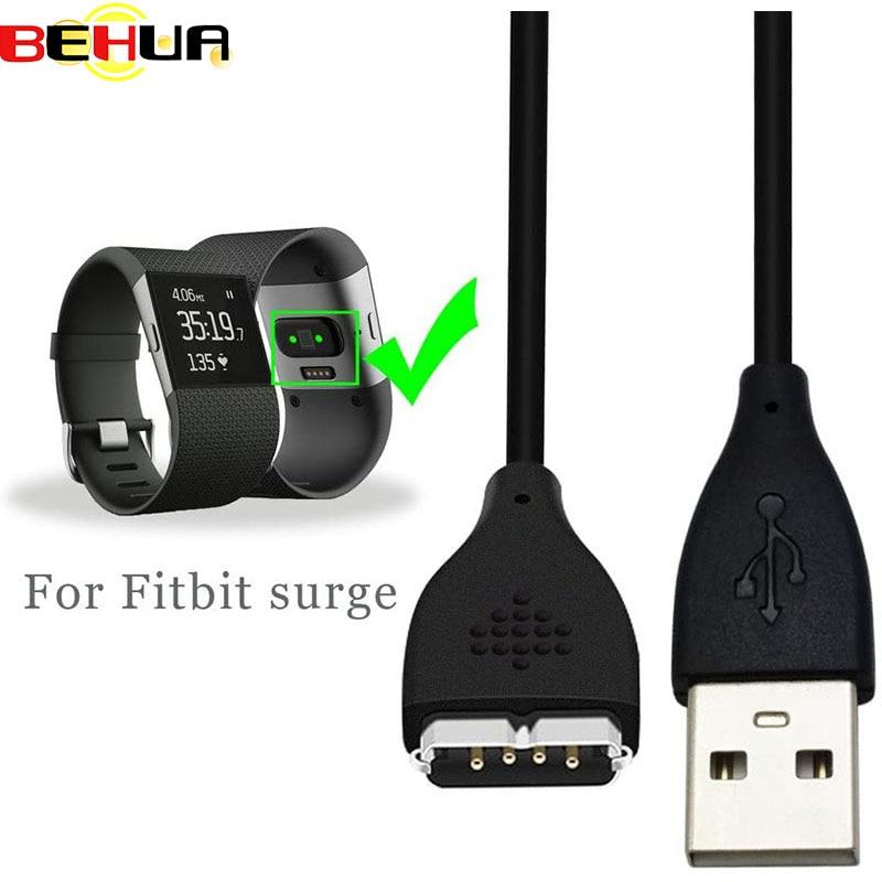 BEHUA-Cable de carga Usb para reloj inteligente Fitbit, Cargador de pulsera de...