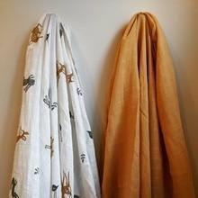 Muslin Muslin Baby Blanket Baby Swaddles ,stroller Cover, Burp Cloth,  Blanket, Changing Mat, Nursing Cover