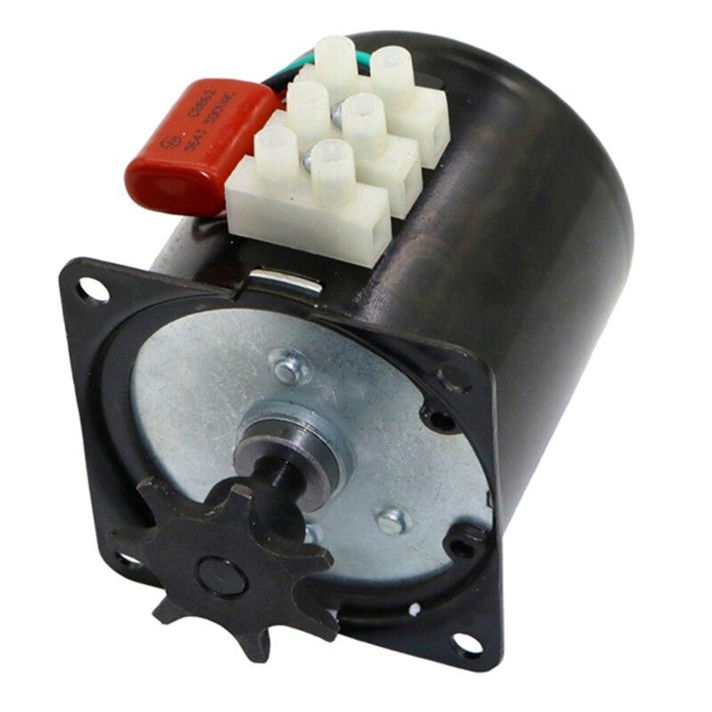 ¡Arriba!-Motor de incubadora de huevos, Motor de engranaje Reversible para la mayoría de incubadoras 2.5R/Min