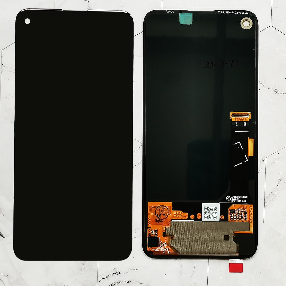 100% Original amoled For Google Pixel 4a LCD Display Touch Screen Digitizer Assembly  Replacement For Google Pixel 4A 4g LCD enlarge