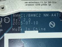 BiNFUL new item, материнская плата BMWC1/BMWC2 для LENOVO 300-15IBR, материнская плата процессора N3700,gt920m 1 Гб (полностью протестирована)