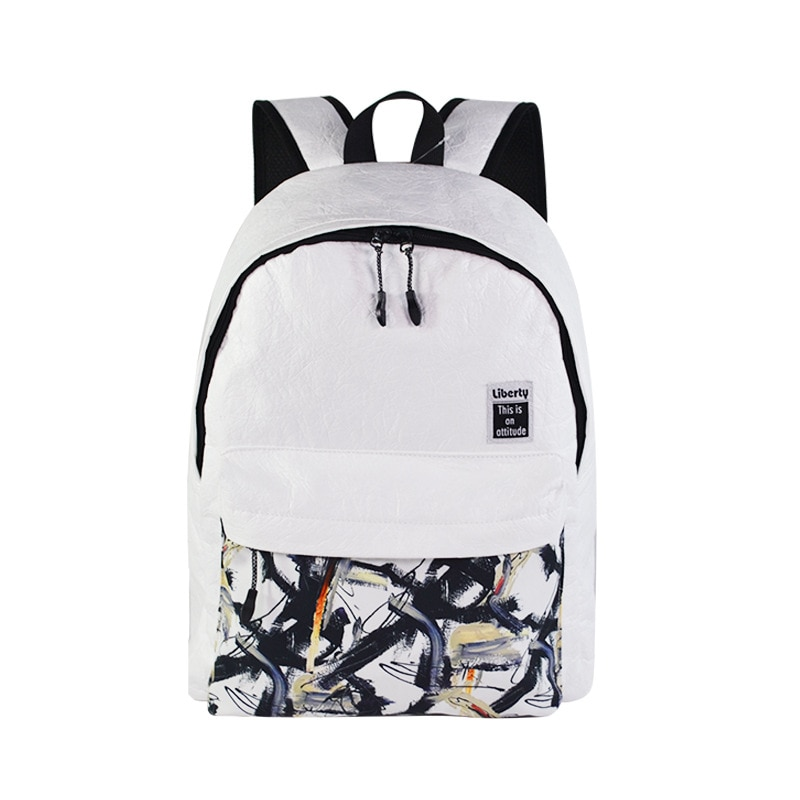 Bolso de escuela unisex Tyvek mochilas de hombro de viaje Casual mochila de niñas para estudiantes de escuela media mochila de ordenador portátil mochila