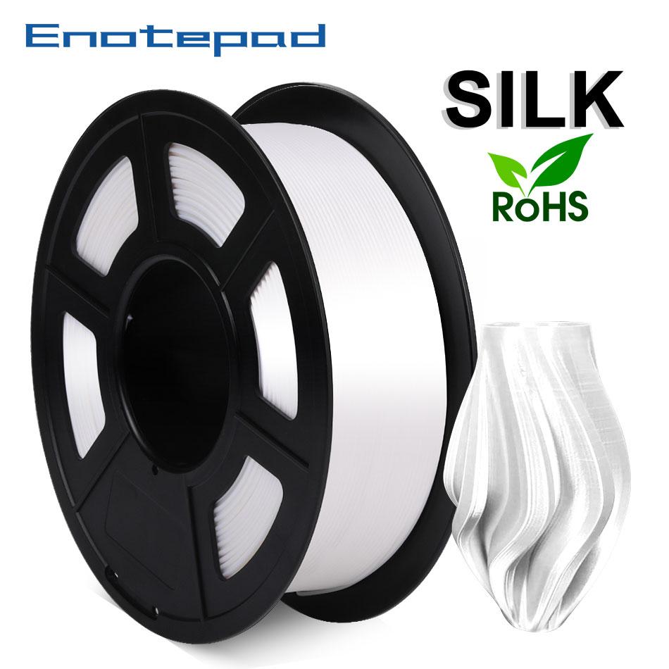 Sin enredos de filamento de impresora 3D, color blanco PLA Plus de...