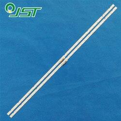 100% nova 2pcs/Kit LED tiras para SAM SUNG 43 TV UA43NU7100R UE43NU7125K UN43NU7100F CY NN043HGNV2H BN96 46053A BN44 00947A