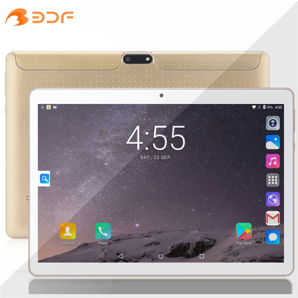 Фото - New Tablet Pc 10.1 Inch 3G Network Quad Core Android 9.0 Phone Call Tablets 2GB+32GB Google Market GPS WiFi Bluetooth 10 Inch zgpax s8 smart watch phone 512mb 4gb built in 8gb tf card android 4 4 2 mtk6572 dual core 1 2ghz wifi bluetooth gps network 3g black