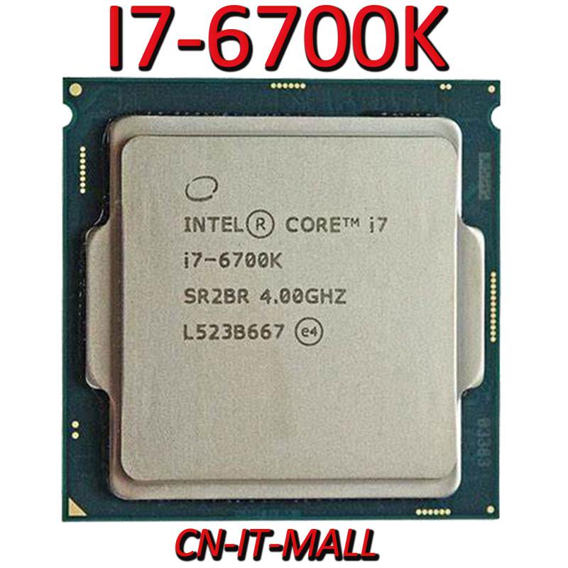 Intel Core I7-6700K CPU 4,0G 8M 4 Core 8 hilo LGA1151 procesador