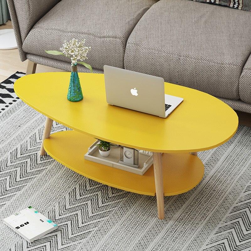 الشمال الأوروبي مزدوجة طبقة الشاي الجدول الحد الأدنى الحديثة شقة صغيرة غرفة المعيشة المنزل أريكة طاولة جانبية الزاوية الجدول مكتب