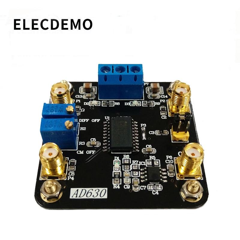 Módulo ad630 módulo equilibrado modulador ad630 chip lock-in amplificador módulo para detecção de modulação de detecção de sinal fraco