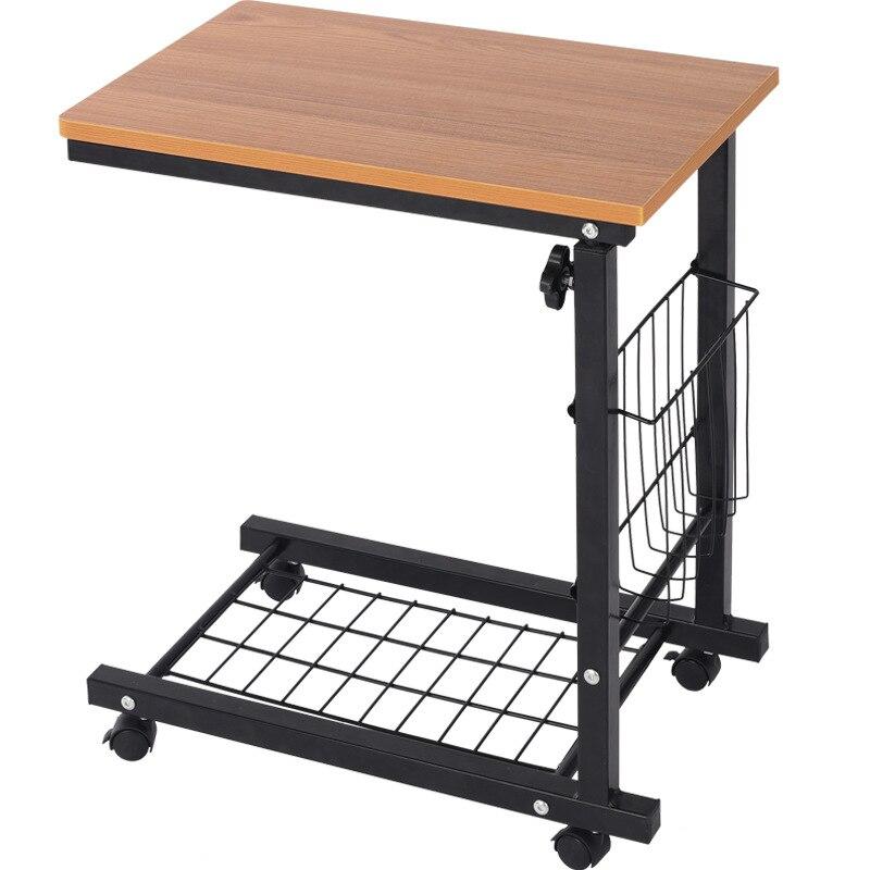 طاولة سرير متنقلة على الطراز الأوروبي ، بسيطة وحديثة ، مصعد ، طاولة قهوة صغيرة ، طاولة جانبية ، أريكة ، كمبيوتر ، WF1103