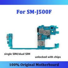 J500F motherboard Original for Samsung Galaxy J5 J500F motherboard single/dual SIM unlocked logic board J500F card/fee Android