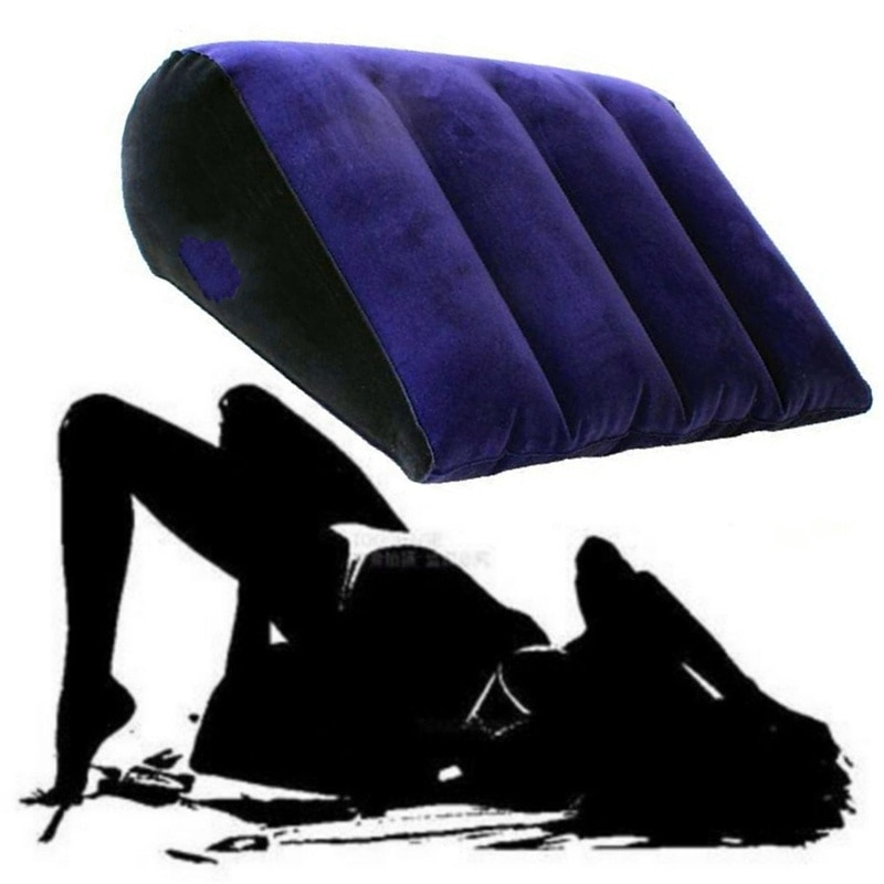 Flocking Inflatable Sex Aid Pillow For Women Love Position Cushione Sex Furniture Erotic Sofa Adult Games Sex Toys For Couples
