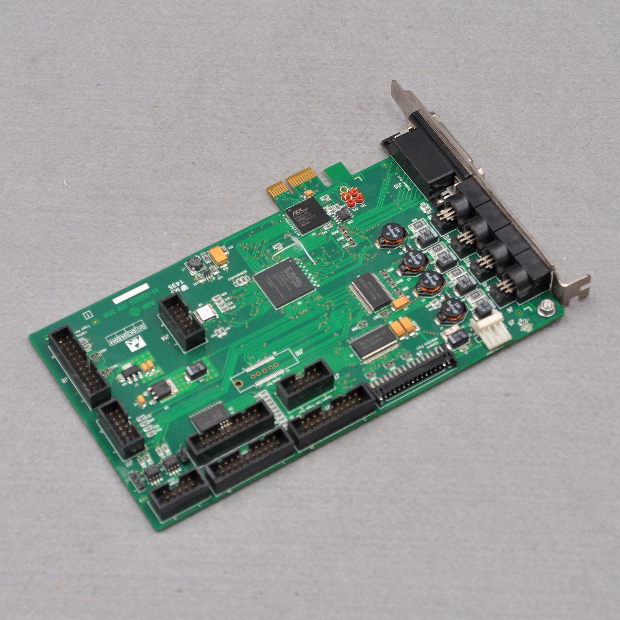 ASM 64-22025A FEB 2010 Industrial Capture Card PCI Card enlarge
