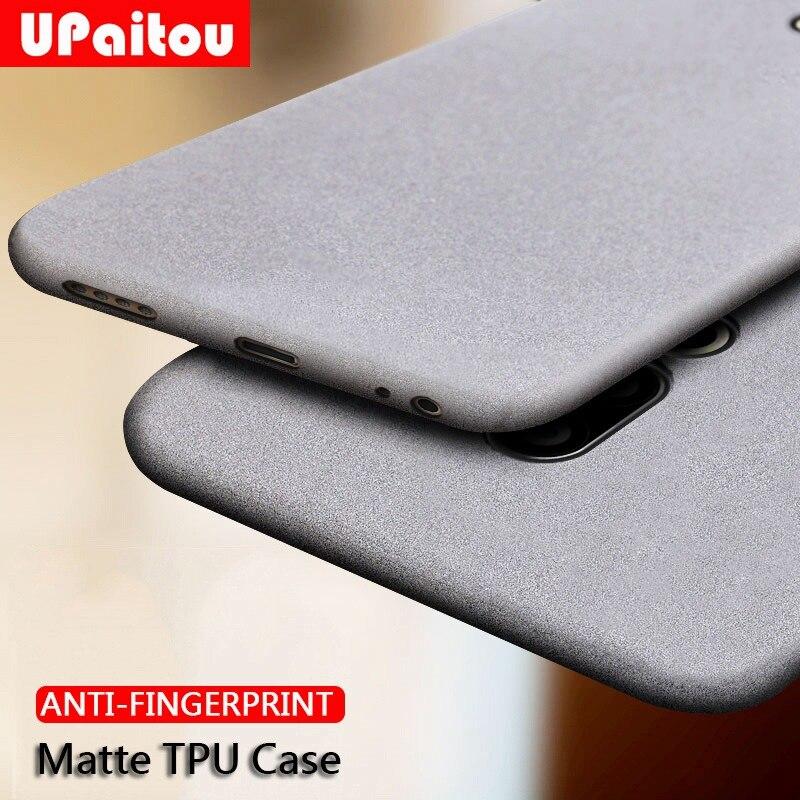 Чехол UPaitou для Meizu 16s Pro 16th Note 9, чехол 16Xs 15 Lite Plus X 16 S, мягкий матовый Ультратонкий чехол из ТПУ с защитой от отпечатков пальцев