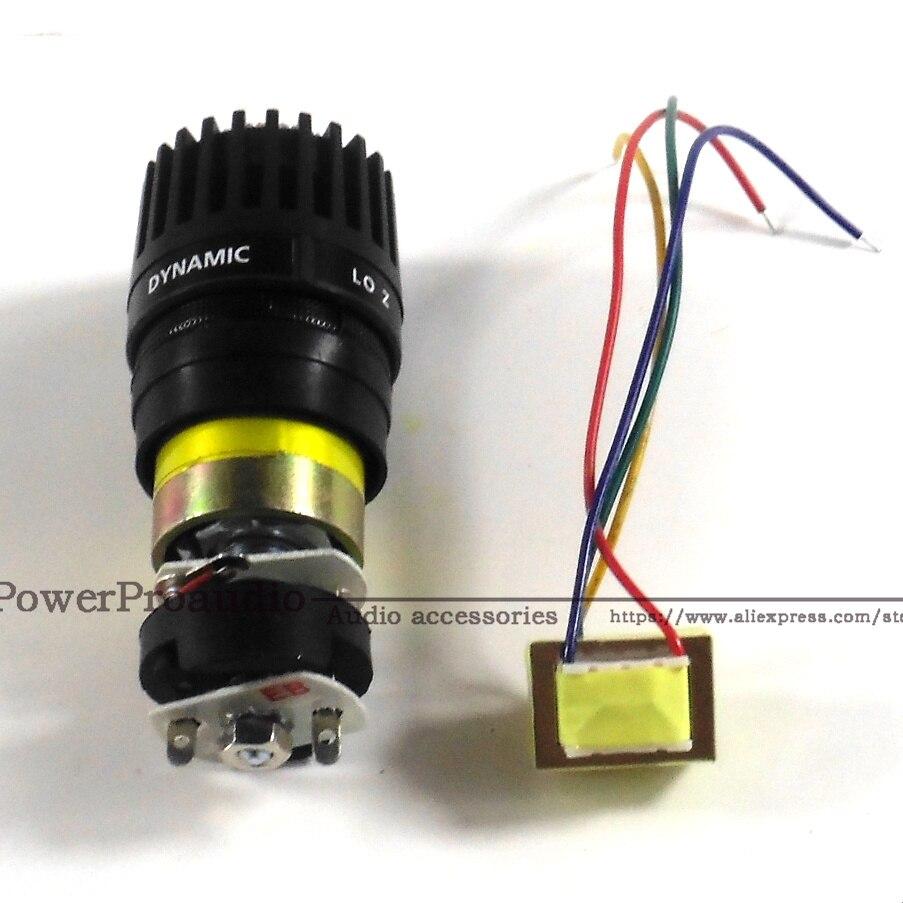Качественный картридж Капсульная головка подходит для Shure SM57 микрофон с трансформатором