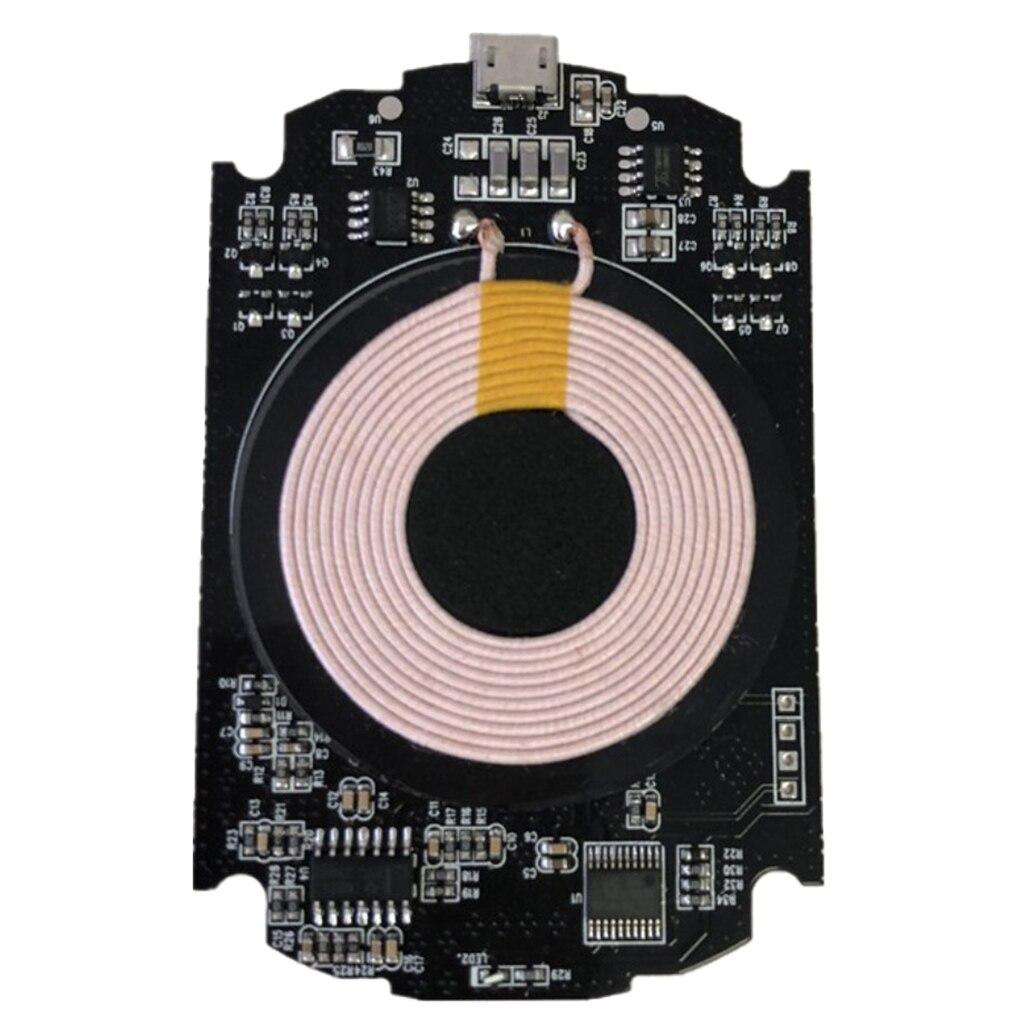 Qi Беспроводное зарядное устройство PCBA печатная плата с Qi стандартная катушка DIY Беспроводной зарядный модуль (5 Вт) для Samsung